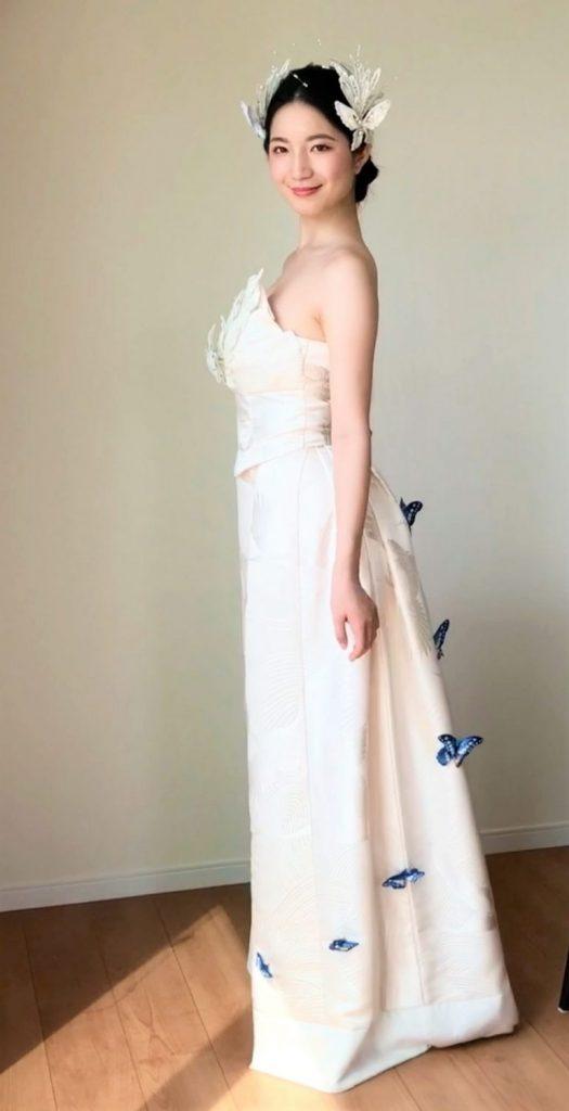 IMG 5190 3 525x1024 - 白無垢ウェディングドレス