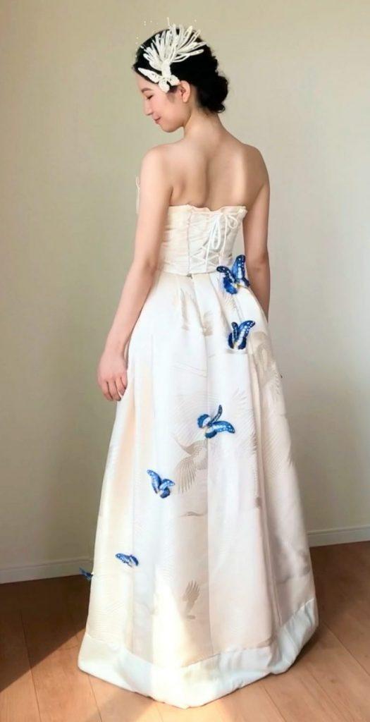 IMG 5193 3 525x1024 - 白無垢ウェディングドレス